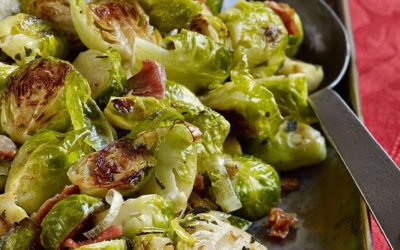 Holiday Menu 2016 – Side Dish – Roasted Brussels Sprouts with Pancetta & Sage